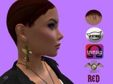 .::CDC Hair Base Catwa/Omega Dark Red F13**