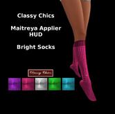 CC - Bright Knee Socks - Maitreya Applier HUD