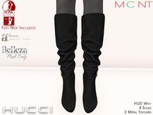 ::HH:: Hucci Xian Boot - Midnight