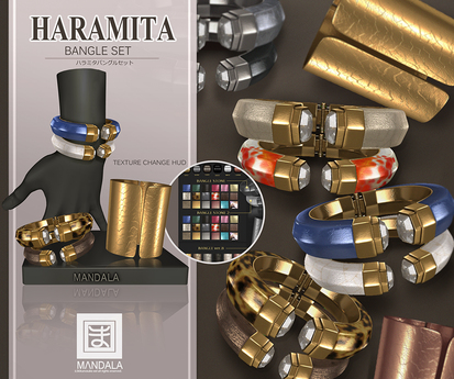 [MANDALA]HARAMITA-season2-Bangle wear ME to unpack