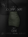 EC.CLOTH - Jo stripe skirt - Olive