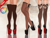 ::MA:: BRANDI Bow Stocking Heels - 50 COLORS PACK