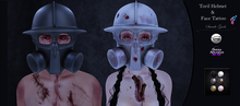 Suicide Gurls - Toril Helmet and Face Tattoo