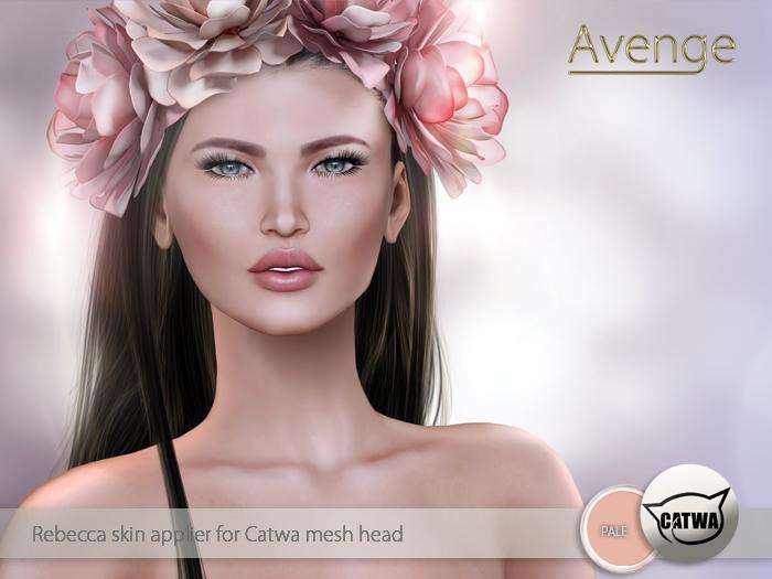[Avenge] Rebecca applier for Catwa - pale