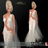 .:FlowerDreams:.Swan - pearl applier gown