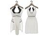 Ducknipple: Dress vs1 - White