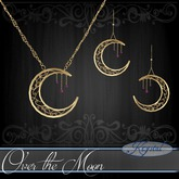 ::: Krystal ::: Over the Moon - Jewelry Set - Gold - Constellat