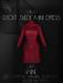 Ec.cloth - Cutout Suede Mini-Dress - Wine (unpacked)