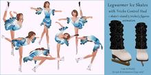 AvaGirl - Legwarmer Ice Skates with Tricks Control Hud 2.0