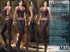 "Bella Moda: ""Avventura"" Purple & Black Adventure Outfit Maitreya/TMP/Slink/Belleza+Standard - FULL"