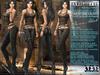 "Bella Moda: ""Avventura"" Brown & Black Adventure Outfit Maitreya/TMP/Slink/Belleza+Standard - FULL"