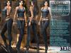"Bella Moda: ""Avventura"" Blue & Black Adventure Outfit Maitreya/TMP/Slink/Belleza+Standard - FULL"