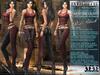 "Bella Moda: ""Avventura"" Red & Black Adventure Outfit Maitreya/TMP/Slink/Belleza+Standard - FULL"