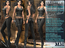 Bella Moda: Avventura Faded Black Adventure Outfit