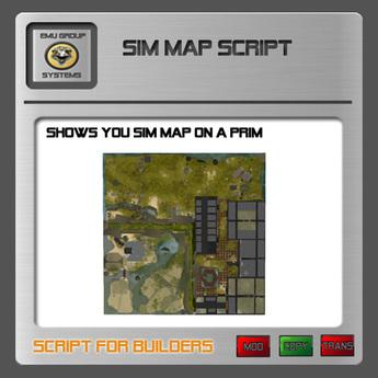 EMU Script Sim Map