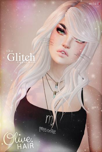 .Olive. the Glitch Hair - FATPACK