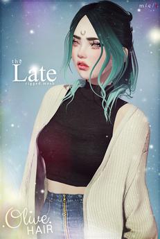 .Olive. the Late Hair - FATPACK [Wear Me]