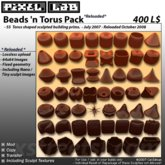 Beads 'n Torus Pack *Reloaded* by Cel Edman