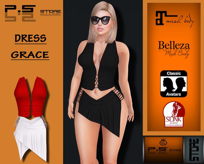 ..:: P.S Store ::.. DRESS GRACE + HUD 25 COLORS
