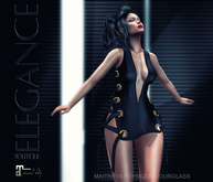 "Elegance Boutique -Dress  ""Stephie"" - DEMO -  Maitreya/Slink"