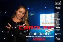 [SINSE] Caroline Dance Volume 1 - Club Dance Unisex - Motion Capture Optical Series