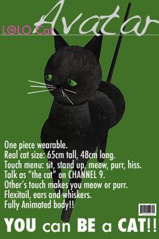 Black Cat Avatar (Classic)