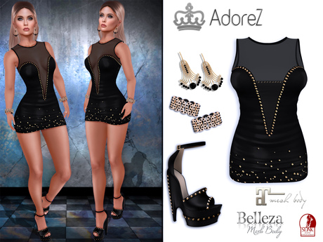 AdoreZ-Mille Dress Outfit