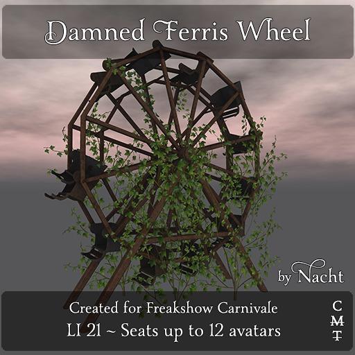 *~ by Nacht ~ Damned Ferris Wheel