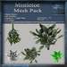 Mistletoe Mesh Kit, Christmas Holiday Builders Decoration, Full Perm