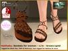 DEMO Bliensen - Haithabu - Viking Sandals - F - Slink Maitreya Belleza TMP