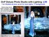 OnP Deluxe Portrait Studio with Lighting