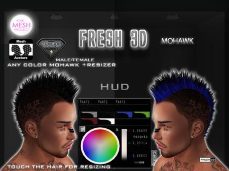 FRESH3D MOHAWK