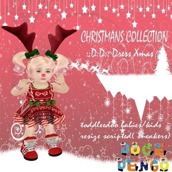 ::D:D:: Outfit Dress Christmas