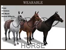 [TomatoPark] DEMO Wearable Mesh Horses2