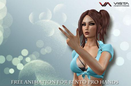 VISTA-BENTO HANDS FREE ANIM