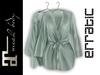erratic / allure - satin robe / mint (maitreya)
