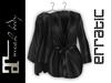 erratic / allure - satin robe / noir (maitreya)