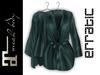 erratic / allure - satin robe / pine (maitreya)