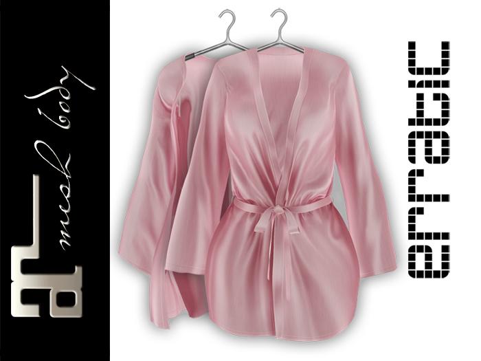 erratic / allure - satin robe / rose (maitreya)