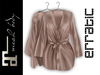 erratic / allure - satin robe / nude (maitreya)