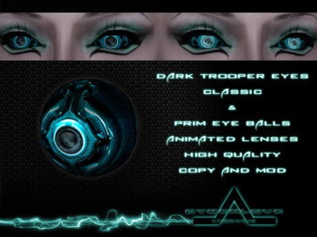 <CyberLove> Dark Trooper Eyes