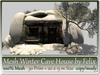 Mesh Winter Cave House 30 Prim = 20x15m Size copy-mody