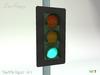 ~DecoFranzy~ Automatic Traffic Light w. Pole Scripted (CM)