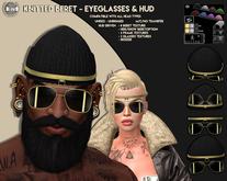 [Since1975] -JJ - Knitted Hat/EyeGlasses & HUD