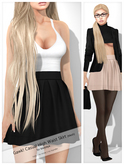 Gawk! DEMO Casual High Waist Skirt (Mesh)