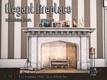 GW Elegant Fireplace with Animations