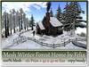 Mesh Winter Forest Home 161 Prim=42x42m Size copy-mody