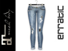 erratic / taylor - denim pants / light blue 1 (maitreya)