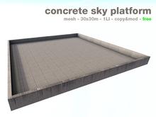 NSS free concrete sky platform