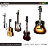 ::TA Guitars Wall Decor
